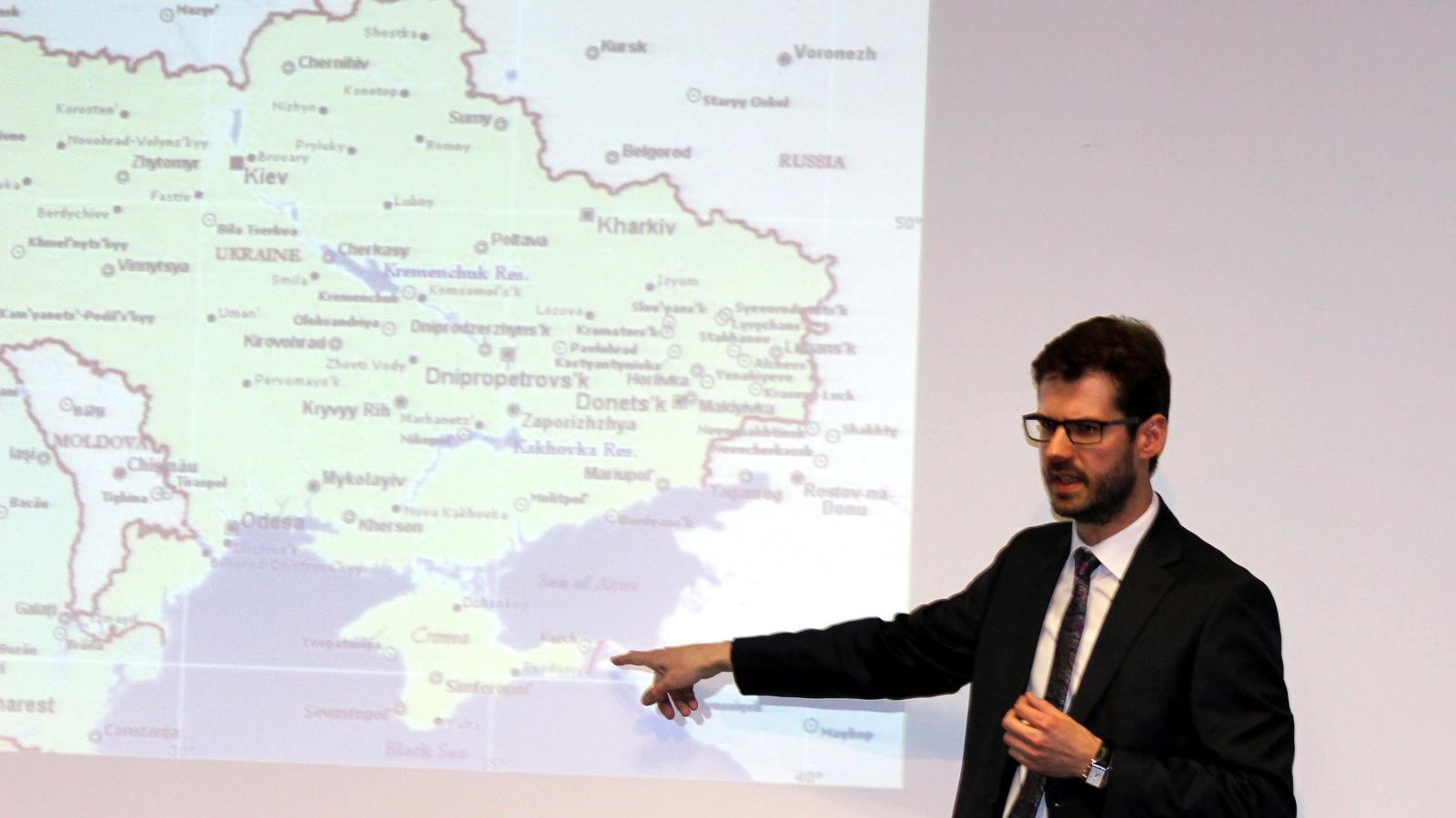 Russlands Krieg in der Ukraine - Karte