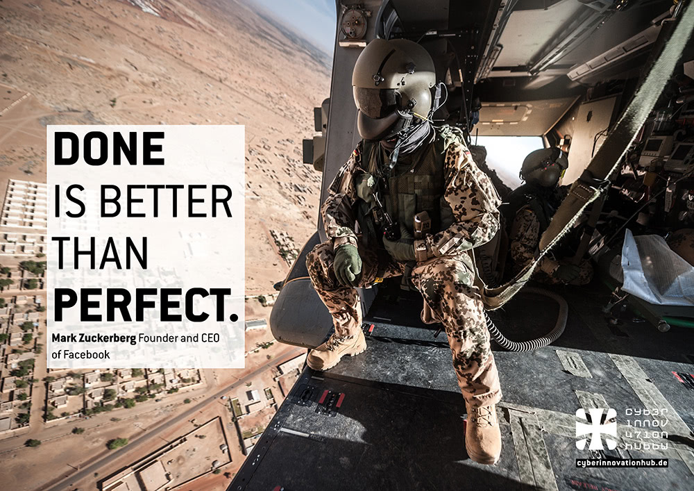 Done Is Better Than Perfect.
