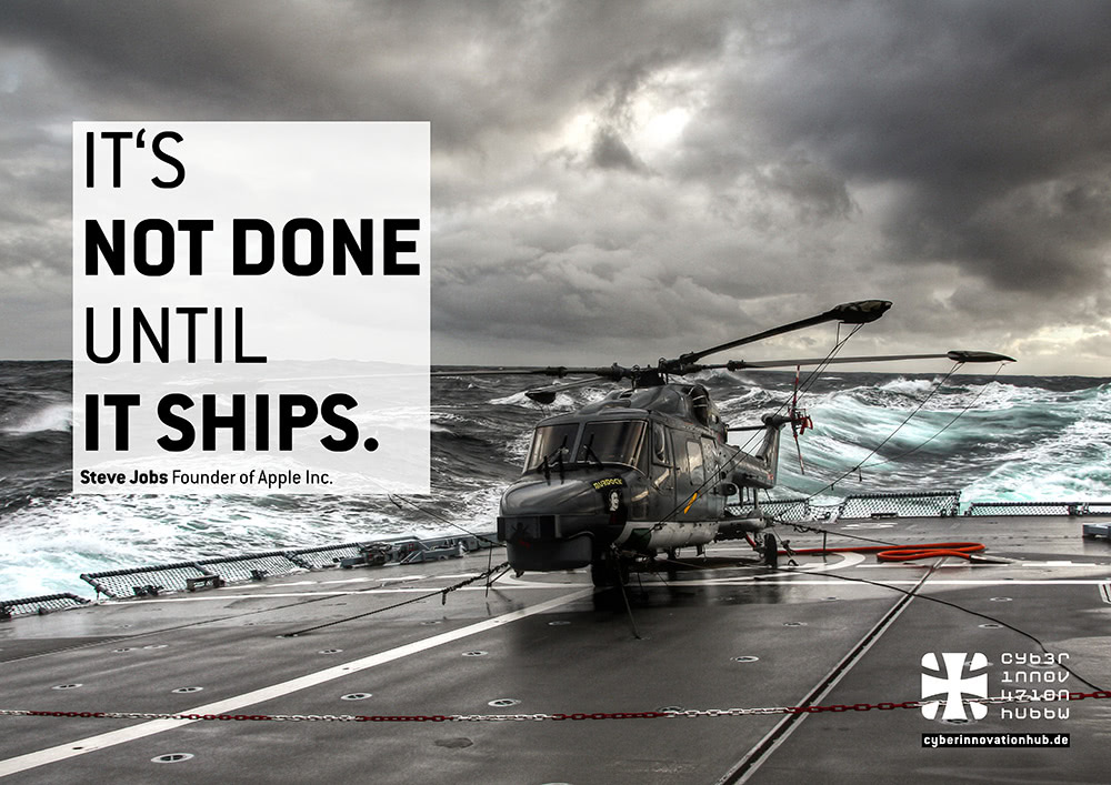 It´s Not Done Until It Ships.