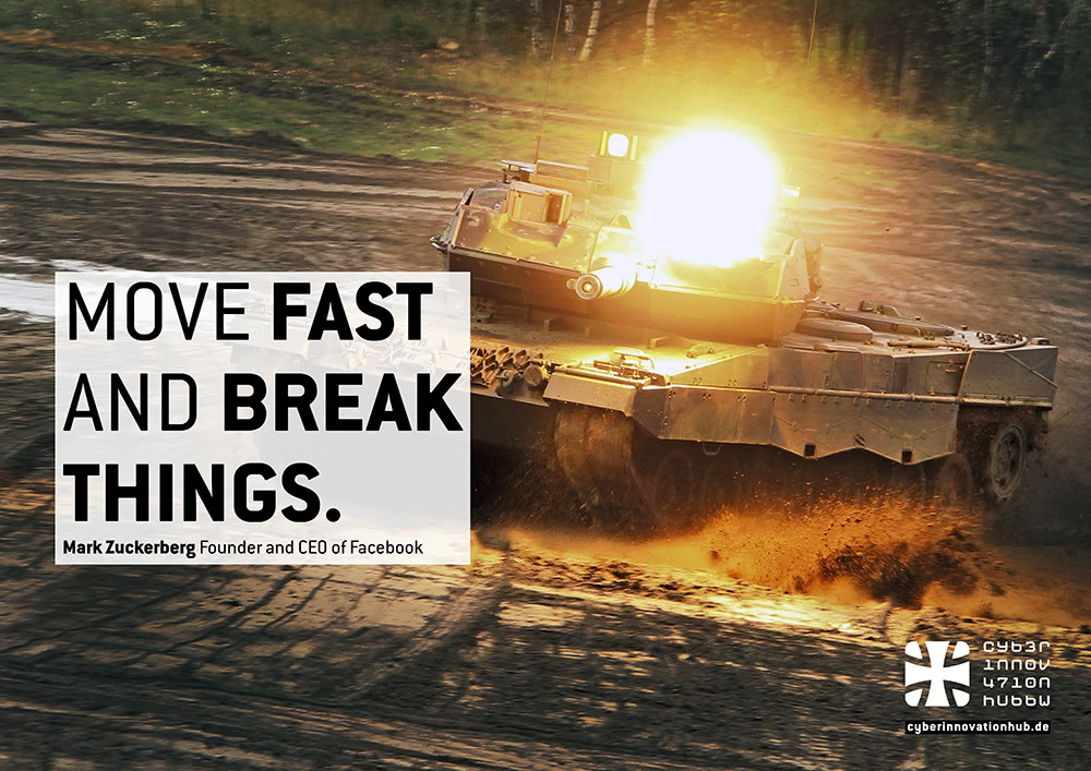 Move Fast And Break Things.